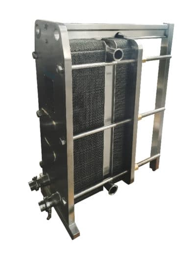 Two Stages Heat Exchanger